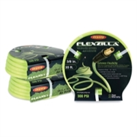 "Legacy Manufacturing Flexzilla ZillaGreen 3/8"" x 25' Air Hose with 1/4"" Threads LEGHFZ3825YW2"