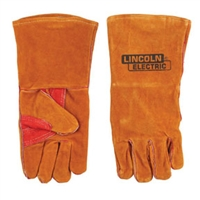 Lincoln Electric KH642 Brown Leather Welding Gloves - LEW-KH642