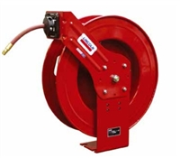 "Lincoln Lubrication 83753 3/8"" x 50 Ft. Retractable Air & Water Hose Reel - LIN83753"