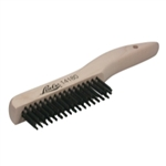 Lisle Shoe Handle Wire Scratch Brush LIS14180
