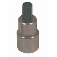 Lisle 3/8 Drive 7mm Hex Bit Socket LIS33900