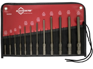 Mayhew 12 Piece Pilot Punch Set MAY62254