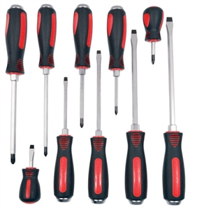 Mayhew 66306 10 Piece Capped End Screwdriver Set - MAY66306