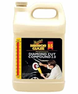 Meguiar's M85 Mirror Glaze® Diamond Compound Cut 2.0 - 1 Gallon - MGL-M8501