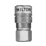 "Milton Industries 3/8"" NPT Female M-Style Coupler MIL718"