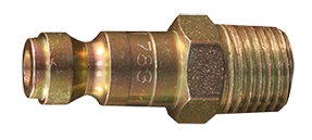 "Milton Industries 2 Pack 1/4"" NPT Male T-Style Plug MIL783"