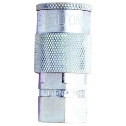 "Milton Industries 1/4"" NPT Female H-Style Coupler MILS1833"
