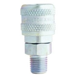 "Milton Industries 1/4"" NPT Male A-Style Coupler MILS776"