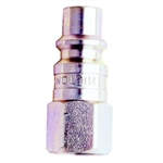 "Milton Industries 1/4"" NPT Female H-Style Plug MIL1840"