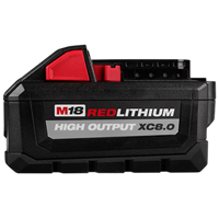 Milwaukee 48-11-1880 M18™ REDLITHIUM HIGH OUTPUT™ XC8.0 Battery - MLW48-11-1880