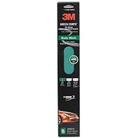 "3M™ 2-3/4"" x 16-1/2"" Stikit™ 5 Pack Green Corps™ Sheet MMM32231"