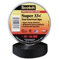 "3M Scotch® Vinyl Plastic Electrical Tape 3/4"" x 52' MMM6133"