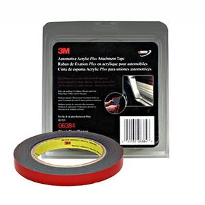 "3M™ 1/2"" x 5 yds. Automotive Acrylic Plus Attachment Tape, Black MMM6384"