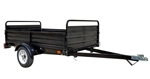 Detail K2 Inc DK2 MMT5X7 5ft x 7ft Multi Purpose Steel Utility Trailer - Black