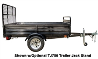 Detail K2 Inc DK2 MMT5X7-DUG 5ft x 7ft Mighty Multi Utility Trailer w/Drive Up Gate
