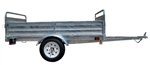 Detail K2 Inc DK2 MMT5X7G Galvanized 5ft x 7ft Multi Purpose Utility Trailer