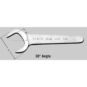 "Martin Tools 1-3/4"" Chrome Service Angle Wrench MRT1256"