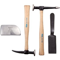 Martin Tools 4 Piece Body and Fender Repair Set with Hickory Handles MRT644K