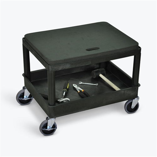 Whiteside Manufacturing HRAST Deluxe Adjustable Height Mechanic/'s Seat