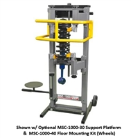 Quality Stainless Products MSC-1000 Wall Mount Strut Compressor