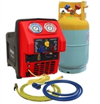 Mastercool 69391 Spark Free Twin Turbo Refrigerant Recovery Machine For R1234Yf - MSC-69391