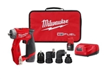 Milwaukee® 2505-22 M12 FUEL™ Installation Drill/Driver Kit - MWK-2505-22