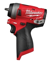 "Milwaukee 2552-20 M12 FUEL™ Stubby 1/4"" Impact Wrench (Tool Only) - MWK-2552-20"