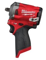 "Milwaukee 2554-20 M12 FUEL™ 3/8"" Stubby Impact Wrench (Tool Only) - MWK-2554-20"