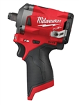 "Milwaukee 2555-20 M12 FUEL™ 1/2"" Stubby Impact Wrench (Tool Only) - MWK-2555-20"