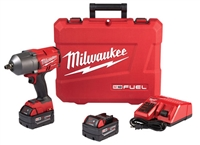 "Milwaukee 2767-22 M18 FUEL™ 1/2"" High Torque Impact Wrench w/Friction Ring Kit - MWK-2767-22"