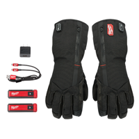 Milwaukee® 561-21 REDLITHIUM™ USB Rechargeable Heated Gloves - Sizes Available Medium, Large, & X-Large - MWK-561-21