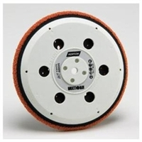 Norton Multi Air Speedgrip Soft Orange Bu Pad 6In NOR60605