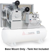 FS-Curtis OL15 Base Mount 15HP Oil-less Air Compressors (230V or 460V 3-Phase)