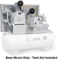 FS-Curtis OL7.5 Base Mount 7.5HP Oil-less Air Compressors (230V or 460V 3-Phase)
