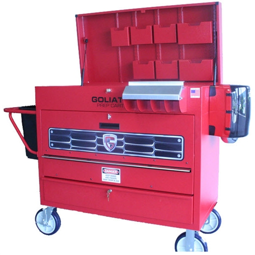 Goliath Cart Llc P1 A Smart Series Painters Toolbox Prep Cart