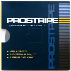 "Prostripe 7/16"" x 20' Chrome Small Bead Wheel Molding PRS-M802005"