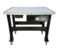 iDeal PTDT-1000 Premium Tear Down Table w/1,000 lbs. Capacity - Black