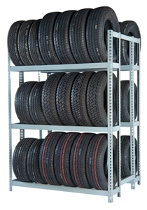 WPSS R2-3DES Double Starter 3 Tier Tire Rack - 6 Shelves - R2-2DES