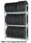 WPSS RiveTier® I 5SES  Single Starter 5 Tier Tire Rack - 5Shelves - R2-5SES