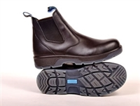Redback BTST Blue Tongue Station Slip-On Boots, Black - Available Sizes 7 to 13 - RDB-BTST9.5