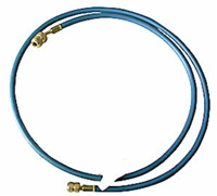 "Robinair ROB38272A 72"" R-12 Blue Hose With Quick Seal Fittings"