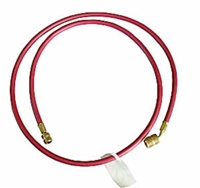 "Robinair ROB38372A 72"" R-12 Red Hose With Quick Seal Fittings"
