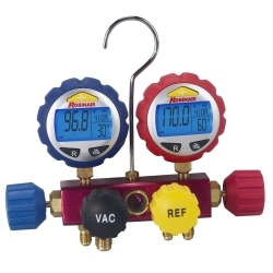 Robinair 4-way Refrigerant Manifold with Digital Gauges - ROB43160