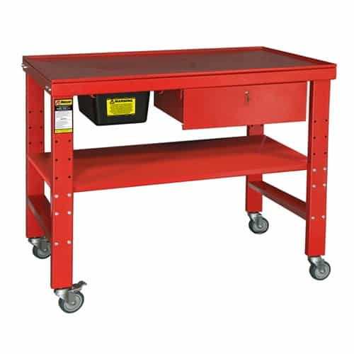 Ranger Rwb 1td Heavy Duty Teardown Work Bench With Fluid Catch