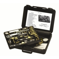 "SG Tool Aid Universal Master Fuel Injector Pressure Test Kit with 3-1/2"" Gage and Quick Couplers SGT58000"