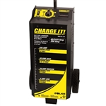 Solar 4735 CHARGE IT! Wheel Battery Charger 6/12 Volt, 40/20/5/200 Amp - SOL4735