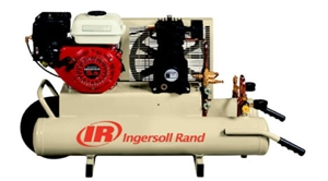 Ingersoll Rand SS3J5.5GH-WB 5.5HP 8Gal Single Stage Portable Wheelbarrow Honda Engine Air Compressor