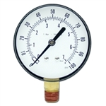 "Star Products 2-1/2"" Replacement Gauge for STATU113, 100 PSI - STA21001"
