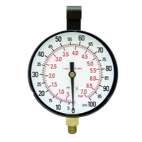 "Star Products 3-1/2"" Replacement Gauge, 100 PSI - STA21003"