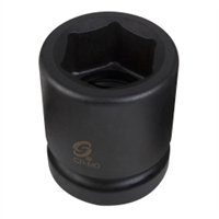 "Sunex 1"" Drive 19mm Standard 6 Point Impact Socket - SUN519M"